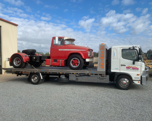 Truck Towing Young
